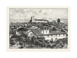 Torre Del Gallo (Galileo's Observatory) Near Florence Italy Giclee Print