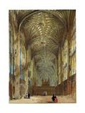 King's College Chapel Cambridge Cambridge University, UK Giclee Print