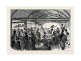 Distributing Soup at the Strangers' Home Limehouse 1868 Giclee Print