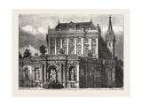 Fountain of the Archduke Albrecht, Vienna, Austria, 1873 Giclee Print