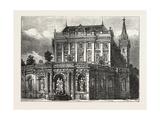 Fountain of the Archduke Albrecht, Vienna, Austria, 1873 Giclee Print