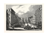 The Graben, a Leading Thoroughfare, in Vienna, Austria Giclee Print