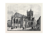 The New Chapel of St. John's College Cambridge, UK, 1869 Giclee Print