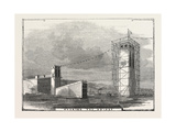 The Britannia Bridge: Nearing the Bridge, 1849 Giclee Print