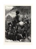 Natives of the Caucasus, North of Mingrelia, 1873 Giclee Print