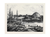 Stockholm, the Admiralty and Harbour Giclee Print