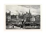 Edinburgh: the Shore Leith Giclee Print