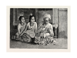 A Visit to the Doctor in Burma Impression giclée