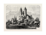 The Cathedral at Speyer Germany, 1882 Giclee Print