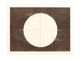 Eclipse of the Sun, March 15, 1858 Giclee Print