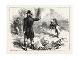 Duel Between Burr and Hamilton, 1870s Giclee Print