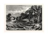 The Old Weir Bridge, Killarney, Ireland Giclee Print