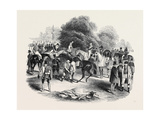Epsom Races, View of the Warren Giclee Print