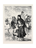 Ireland: Going to Church 1880 Giclee Print