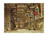 Wolsey's Hall Hampton Court, UK Giclee Print