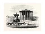Temple of Vesta, Rome, Italy Giclee Print