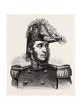 General Guglielmo Pepe. 1855 Giclee Print