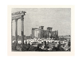 Temple of the Sun at Palmyra Giclee Print