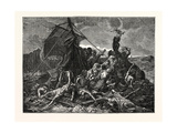 Crew of the Medusa on the Raft Giclee Print