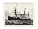 The Cunard Steamship Umbria Giclee Print