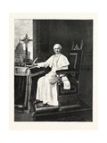 His Holiness Pope Leo XIII, 1893 Giclee Print