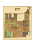Map of North Coral Gables, 1926 Giclee Print