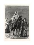 A Kirghiz Bride Giclee Print