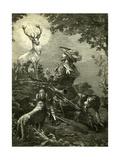 St. Hubertus Austria 1891 Giclee Print
