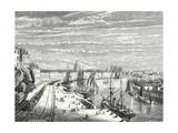 A Railway in Nantes Giclee Print