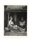 Cinderella, 1876 Giclee Print
