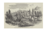 Remains of the Suspension-Bridge at Angers, after the Late Accident Giclee Print