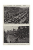 The Coronation of their Majesties, Scenes in Whitehall Giclee Print