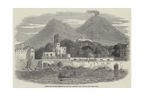 Portici, the Recent Residence of the Pope, Sketched from the Sea Giclee Print