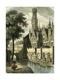 Bruges Belgium Giclee Print