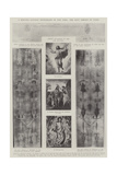 A Reputed Natural Photograph of Our Lord, the Holy Shroud of Turin Giclee Print