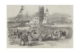 Inauguration of a Russian Gun at Seaham Harbour, Near Sunderland Giclee Print