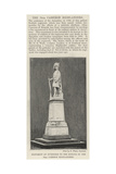 Monument at Inverness to the Honour of the 79th Cameron Highlanders Giclee Print