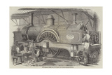 New Express Engine for the London and North-Western Railway Giclee Print