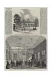 Illustrations of the Prince of Wales' Visit to America, Mount Vernon Giclee Print
