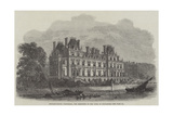 Montagu-House, Whitehall, the Residence of the Duke of Buccleuch Giclee Print