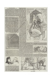 The British Museum, Additions to the Assyrian Sculptures Giclee Print