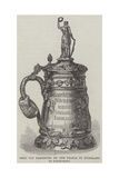 Gold Cup Presented by the People of Friesland to Kostromsky Giclee Print