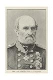 The Late Admiral Sir B J Sulivan Giclee Print
