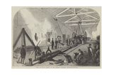 Mode of Anchor Testing at Her Majesty's Dockyard, Woolwich Giclee Print