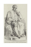 Statue of Dr Jenner, Sculptured by W C Marshall Giclee Print