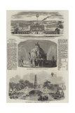 Commemoration of the Peace of Aix-La-Chapelle, 1748 Giclee Print