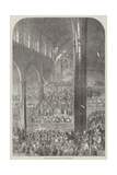 The Norwich Musical Festival, in Saint Andrew's Hall Giclee Print