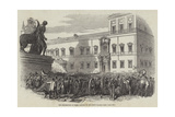 The Insurrection at Rome, Attack on the Pope's Palace Giclee Print