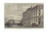 The Great Eastern Railway Terminus and Hotel at Harwich Giclee Print