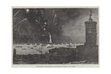 Inauguration of Bartholdi's Huge Statue of Liberty at New York Giclee Print